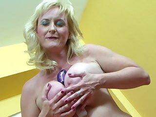 Stunning MILF Monika Wipper receives a heavy black cock