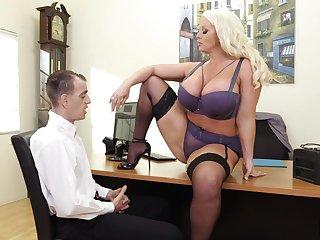 Alura Jenson Unreasoned Office Sex