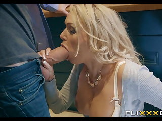 Horny MILF gets Fucked forth the Nautical galley