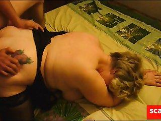 Friend fucks mature fat girl deposit her cuckold husband