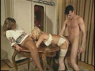 Familie Immerscharf (Teil 5) retro vintage threesome take anal sex