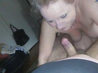 Sucking dick like a boss