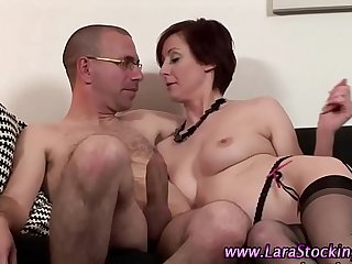 doggy air added to sex from without hope are the favorite poses for horny milf
