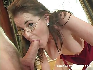Mommy gets serious when it comes involving cock