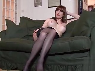 Wang riding by delectable brunette Holly Cuddle