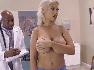 Milf with big natirals fucked by black doctor here ehavy mode