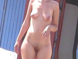 Inferior Hot female nudists hidden spy careen voyeur HD Motion picture