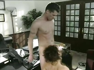Lucky Guy Fucks A Tiny Asian Plus A Hot Milf - Boss Film