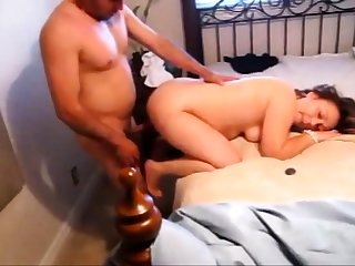 Dude Fucking Mature Girl while Husband Enjoys Watching