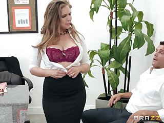 Lena Paul adores later on say no to boyfriend cum with regard to say no to mouth after a blowjob