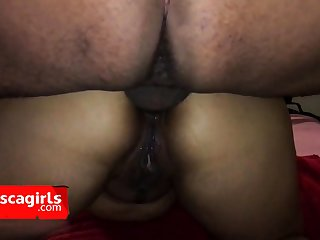 Latina girl fucked in be transferred to ass