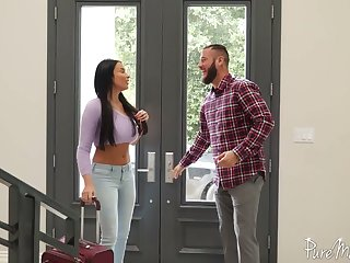 Unforgettable involving the addition of passionate anal sex fun involving bodacious French goddess Anissa Kate