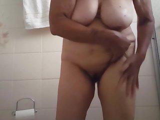 granny showering ever