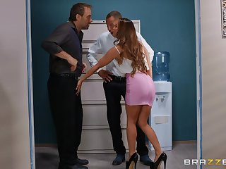 Verification dick eating Abigail Mac can't wait to jump on a hard penis