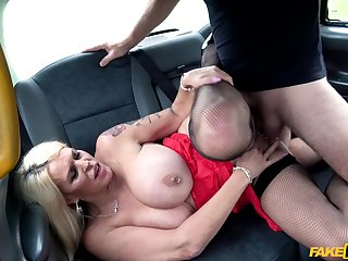 Pierced nipples Shannon Blue gets her cunt pounded like never winning