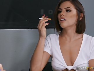 After a blowjob horny Adriana Chechik is approachable be worthwhile for rough anal making love
