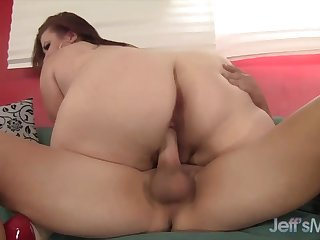 Jeffs Models - Flawless Mature Plumper Lady Lynn Cowgirl Compilation 5