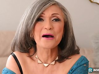 Kokie Del Coco - old grandma pounded wits muscled pencil with big cock j-mac