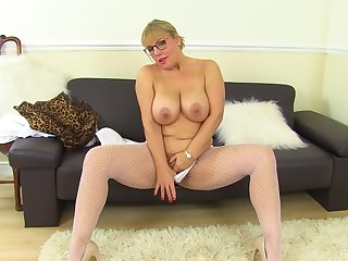 Mature near unselfish tits, first time slutty on cam