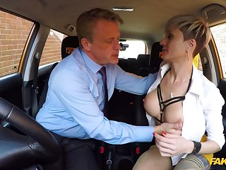 Horny matured with big tits, nasty fuck with along to driving instructor